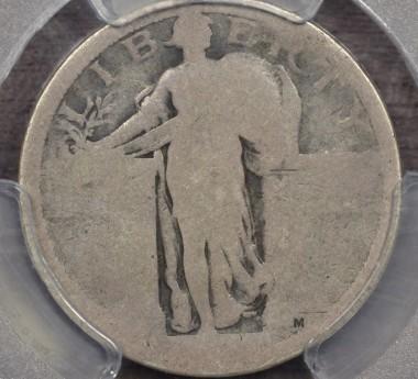 1916 25C PCGS P1 CAC