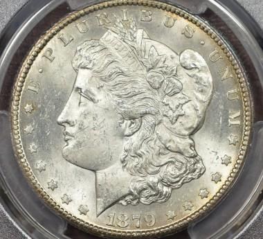 1879-CC $1 PCGS MS63 Capped Die